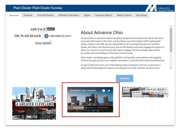 Plain Dealer Brand View video embed.